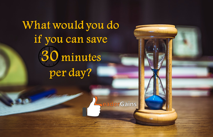 what to do for 30 mins per day